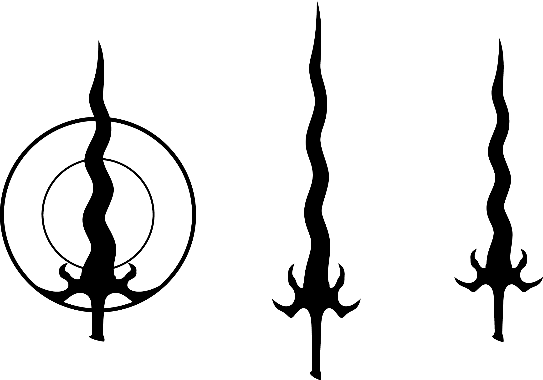 Vampire Clan Symbols Meanings Three Reaver Symbol Variations Picture