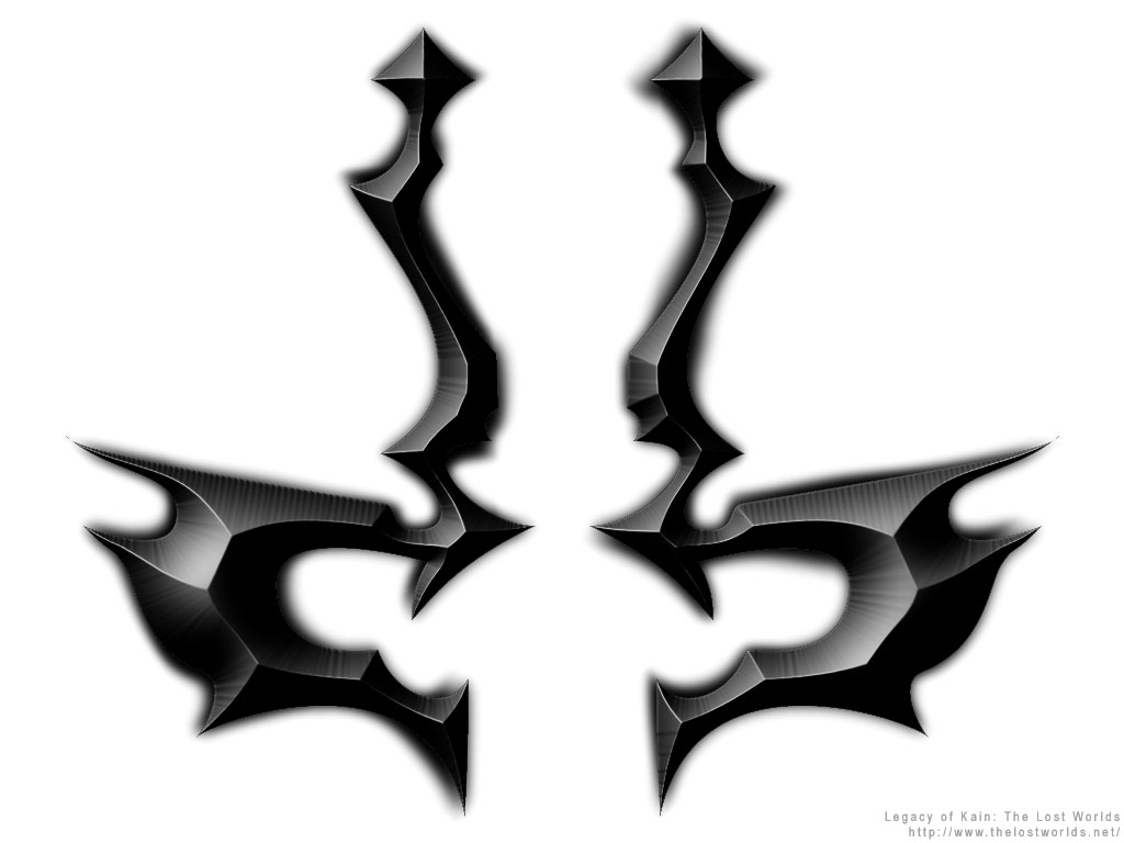 Symbols legacy of kain series legacy of kain the lost worlds raziel metal symbol black biocorpaavc Gallery