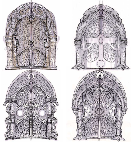 Pinterest the world s catalog of ideas - Several artistic concepts for main door ...